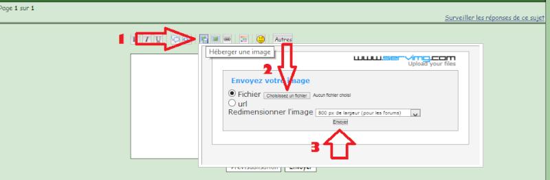 Comment insérer une photo dans un message du forum ? Photos13