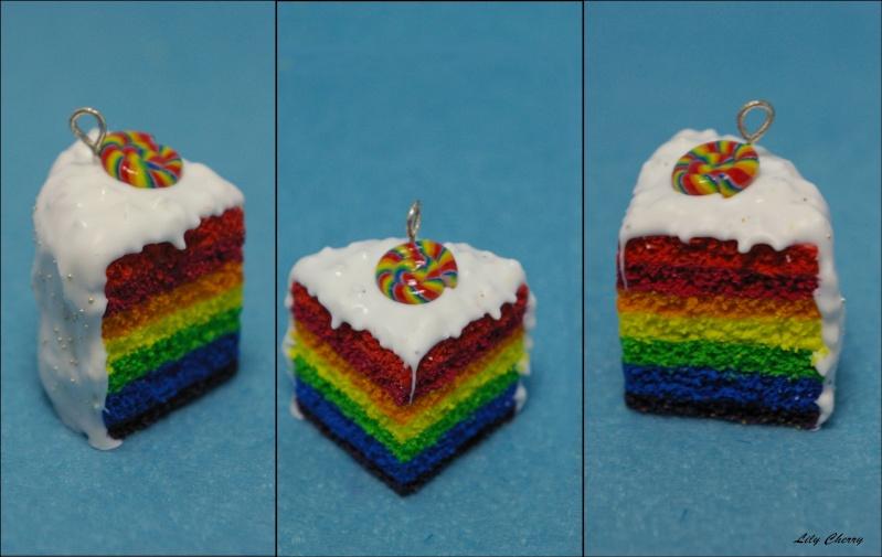 Voici quelques unes de mes créations, promis vous ne prendrez pas 1gr !!! ;) Lily-Cherry Rainbo11