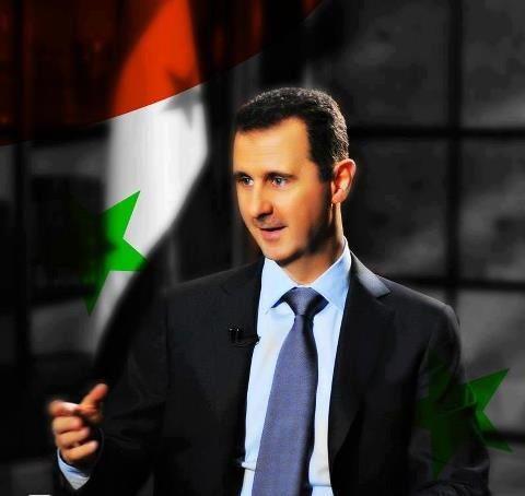 مقابلة السيد الرئيس بشار الاسد في مناسبة عيد الجلاء 17/4/2013 45810