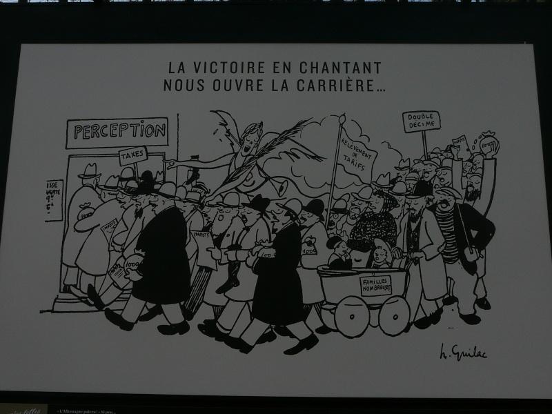 un siècle de caricatures sur les grilles du jardin du Luxembourg P1110810
