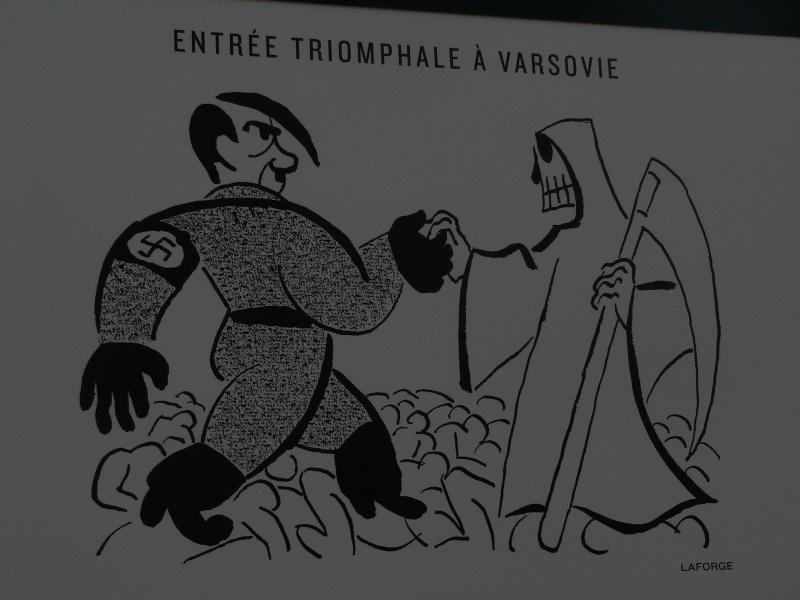 un siècle de caricatures sur les grilles du jardin du Luxembourg P1110811
