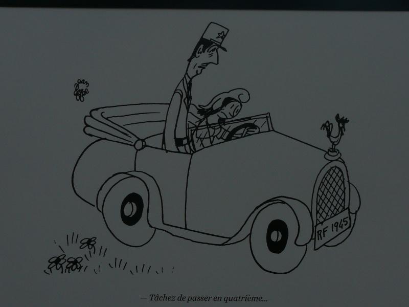 un siècle de caricatures sur les grilles du jardin du Luxembourg P1110813