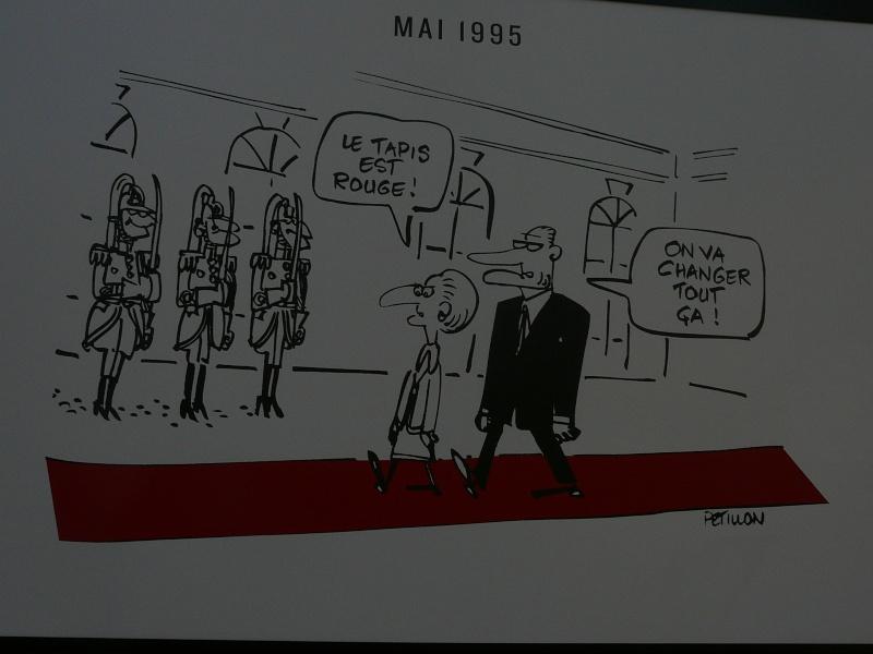 un siècle de caricatures sur les grilles du jardin du Luxembourg P1110821