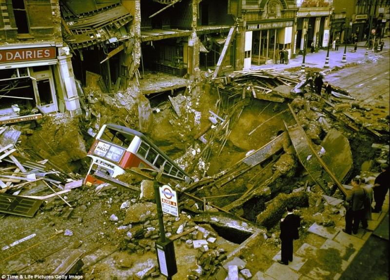 World War 2 London Blitz London13