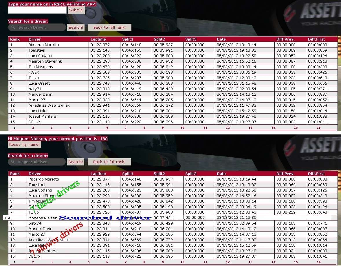 RSR Live Timing - Page 2 Listol10