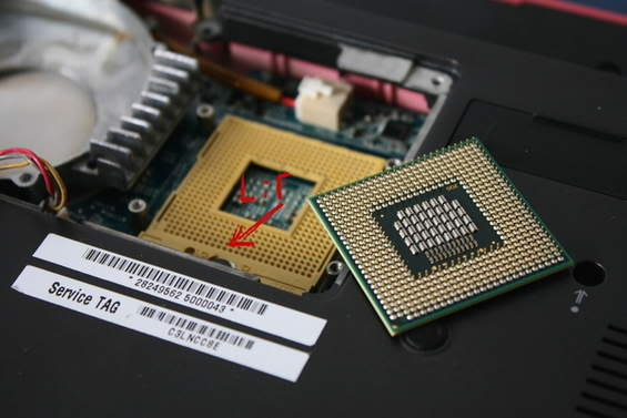 Cách nâng cấp Laptop Socket10