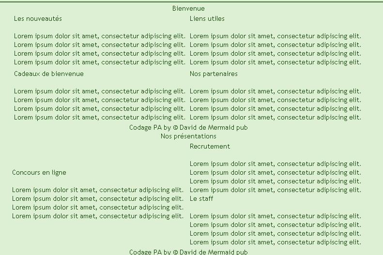 Problème avec un code en Html Html_111