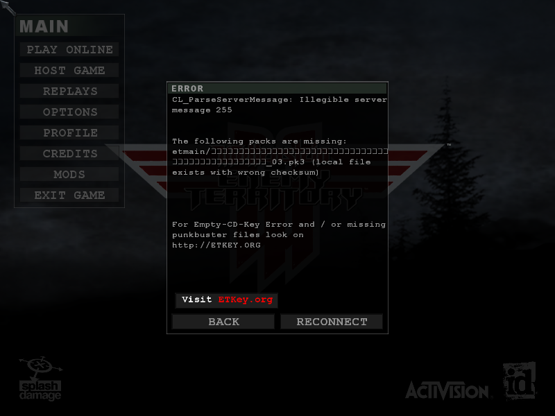 Can't log onto server Bildsc11