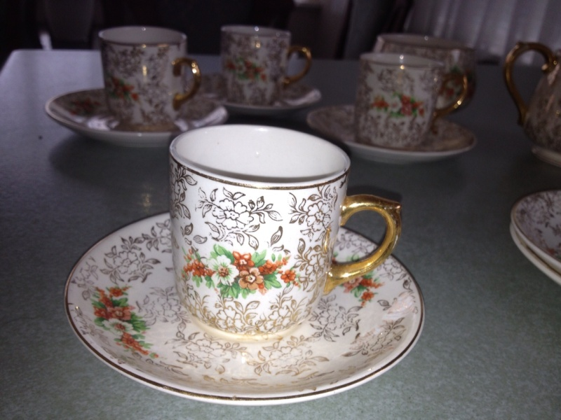 2 TEASETS crown lynn Photo10