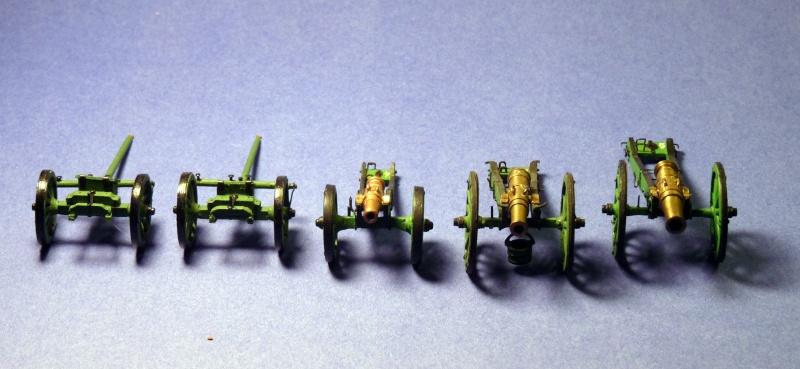 30mm hand built artillerie russe David_11
