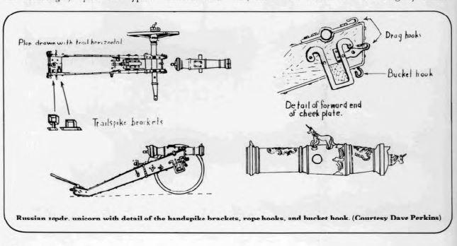 30mm hand built artillerie russe Illust12