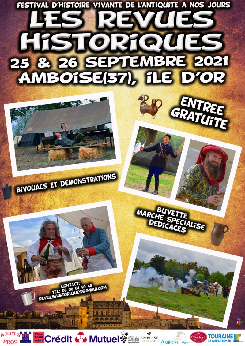 REVUES HISTORIQUES d'AMBOISE  Affich11