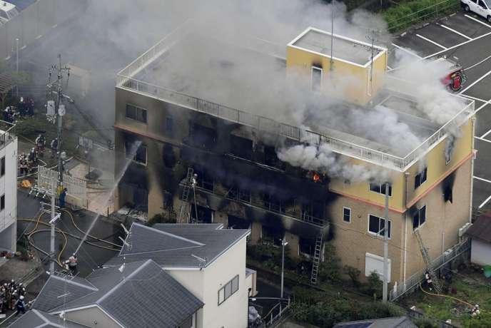 [NEWS] Incendie meurtrier dans le studio 1 de Kyoto Animation 6cf35910