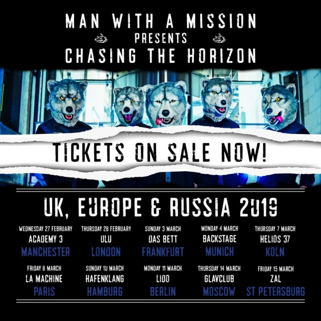 [Concert] Man With A Mission à Paris le 8 mars 2019 Drjj3c10