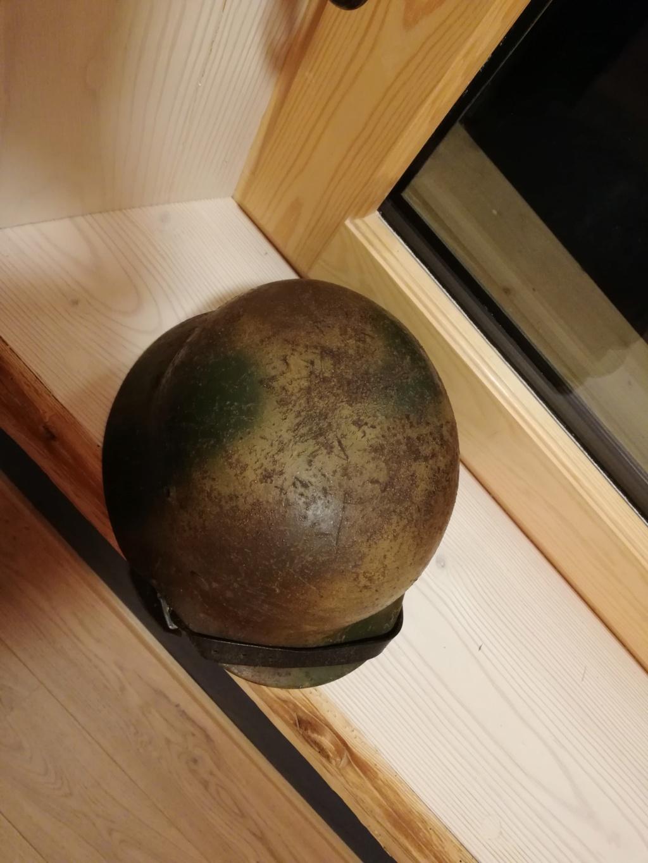 Identification et estimation casque m35 camouflé Normandie  Img_2086
