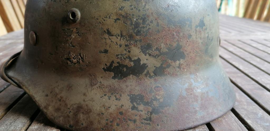 Casque allemand m35 2d camouflé  Img_2118