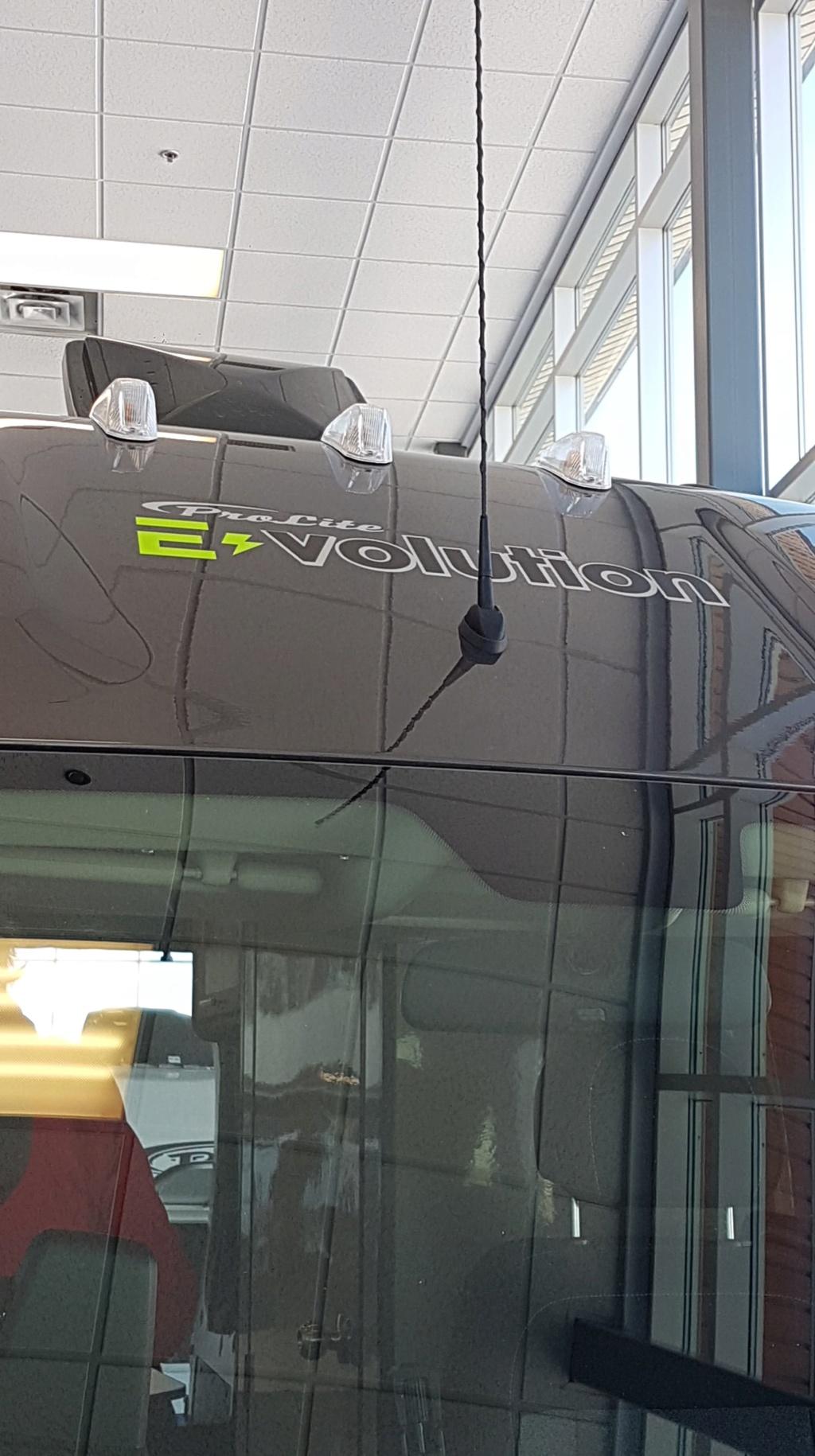 Spécification E-VOLUTION **nouveau modèle** 87562710