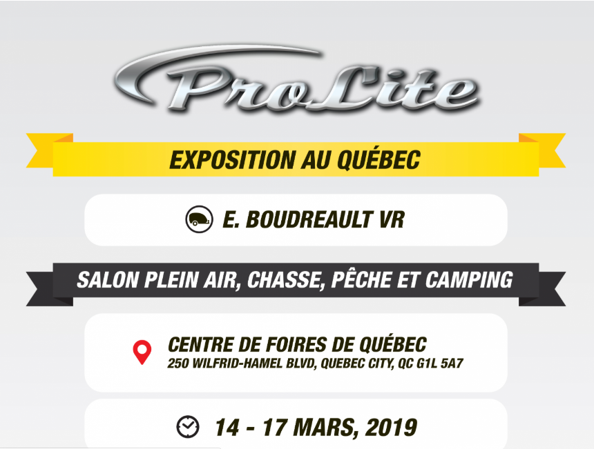 Salon Prolite EBoudreaultVR salon chasse pêche et camping à Québec Captur11