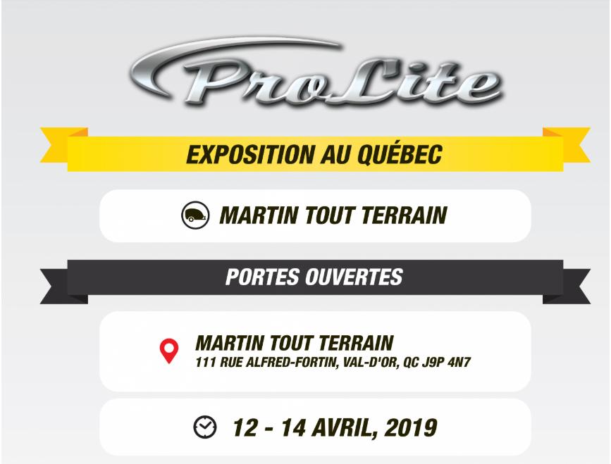 Salon Prolite Martin tout Terrain Val-D'or Martin10