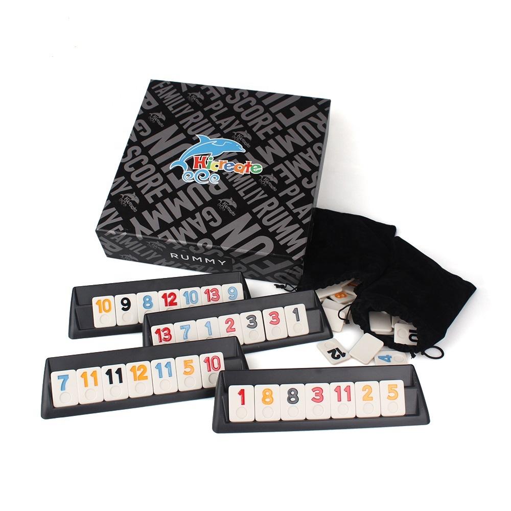 Jeux de voyage ou en petit format  (travel board games) Rummy-10