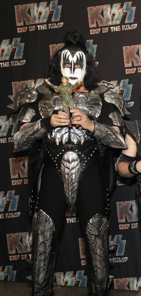 Gijoe MEETS the real Gene Simmons of Kiss.... 53636710