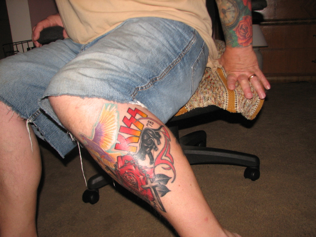 Got a couple more tattoos recently... Img_8013