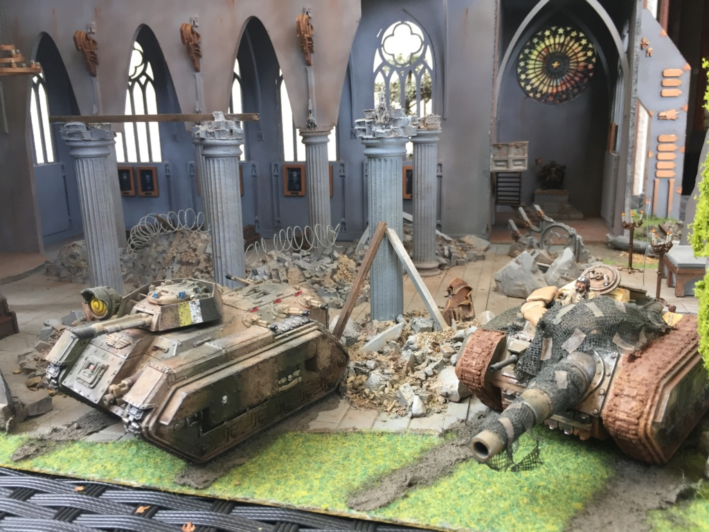 En parallèle de Bolt // diorama et armée de la garde impériale pour W40K Img_3512