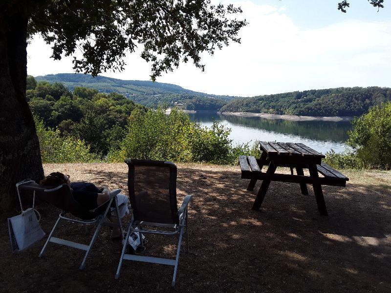 Camping du lac de la Siauve å Lanobre près de Bort les Orgue 20190910