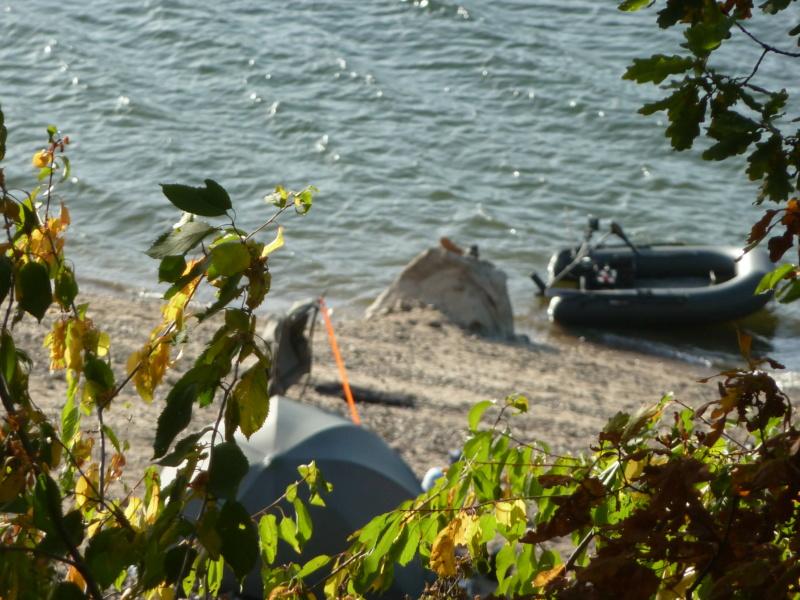 Camping du lac de la Siauve å Lanobre près de Bort les Orgue P1100710
