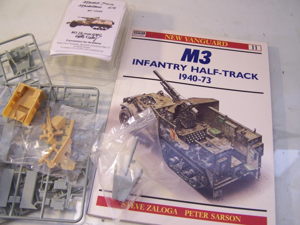 Half Track M3 75mm ,l'ancêtre du TD 10 (terminé) 100_0228