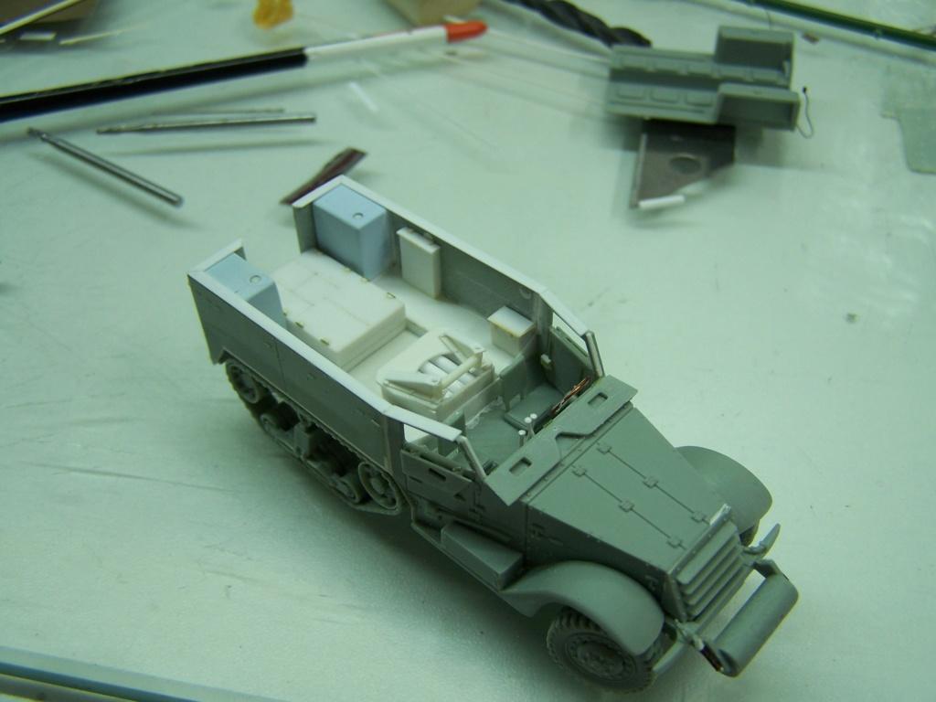 Half Track M3 75mm ,l'ancêtre du TD 10 (terminé) 100_0240