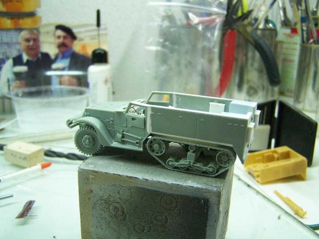 Half Track M3 75mm ,l'ancêtre du TD 10 (terminé) 100_0242