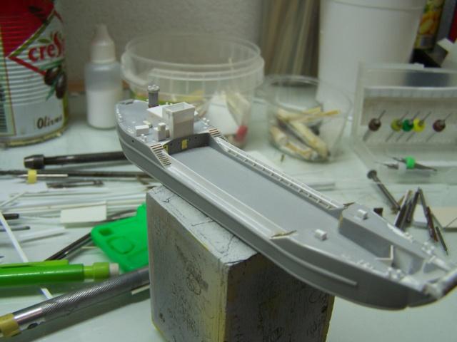 Péniche de débarquement LCT Mk 4, Normandie 44 Réf 81001 100_1131