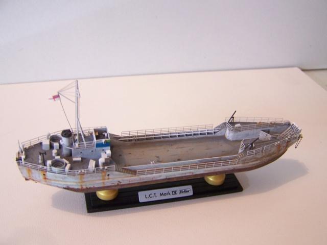 Péniche de débarquement LCT Mk 4, Normandie 44 Réf 81001 100_1135