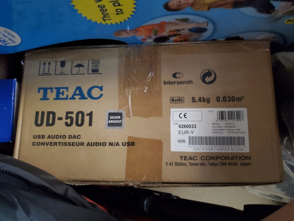 Teac UD-501 digital analogue converter 2020-012