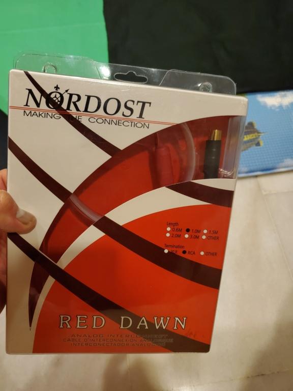 Nordost Red Dawn Flatline Interconnect (sold) 2021-014