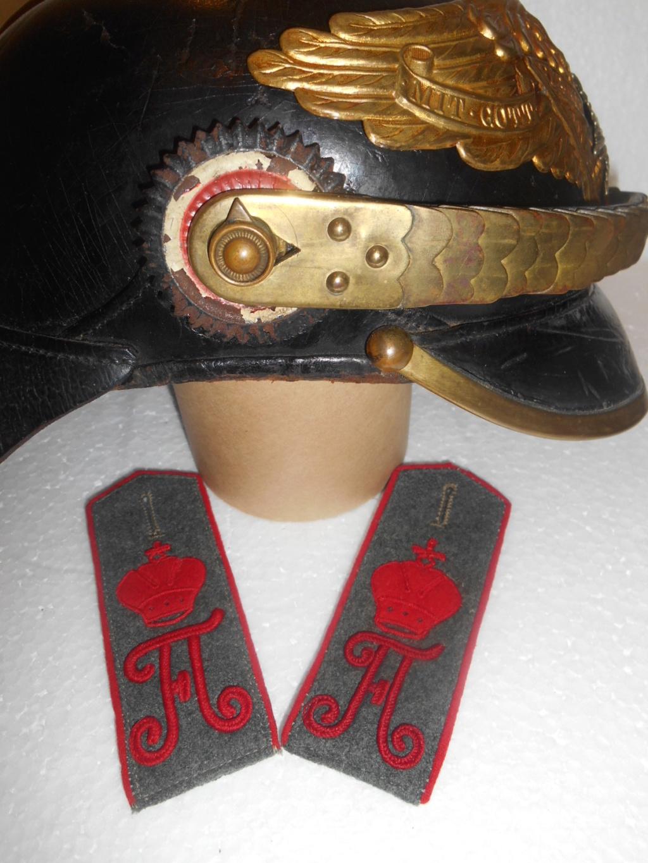 Estimation et authentification d'un casque à pointe de grenadier de la garde 35c84210