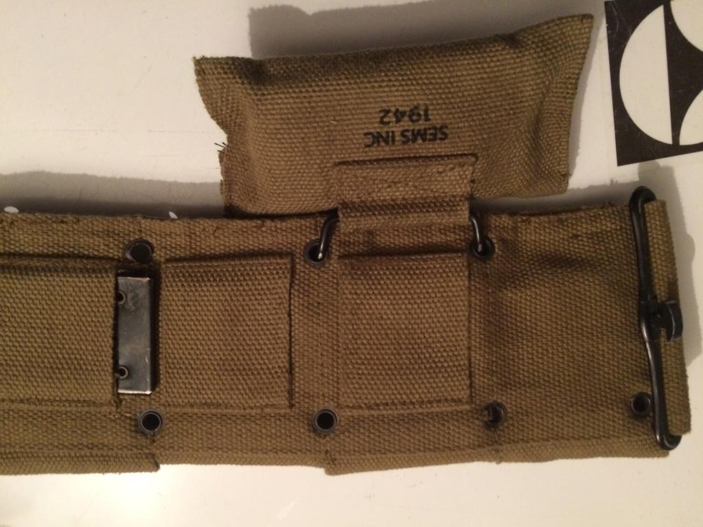 Gourde , sac à pain , ceinturon garand US 6a981a10