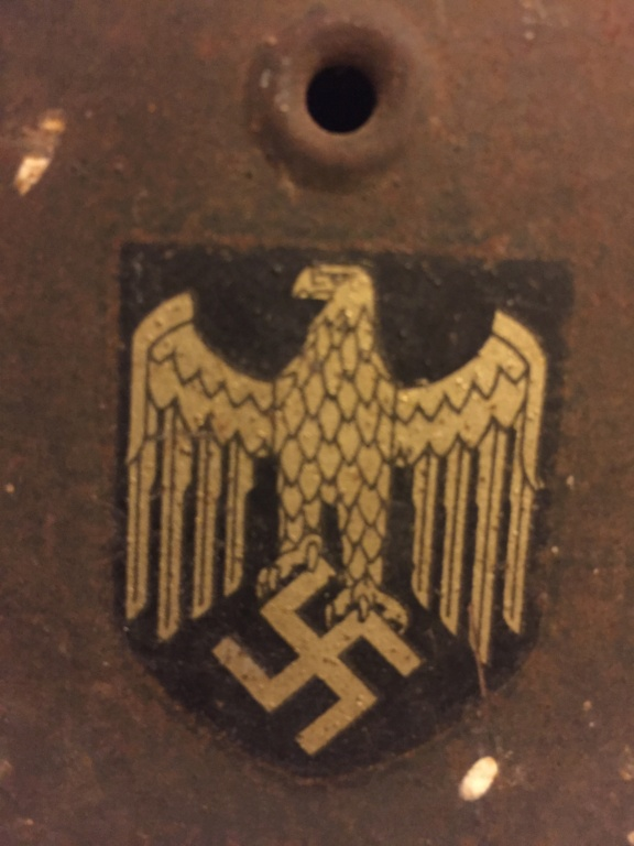 Casque allemand 1 insigne heer 8532ad10