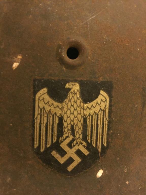 Casque allemand 1 insigne heer Afe94c10