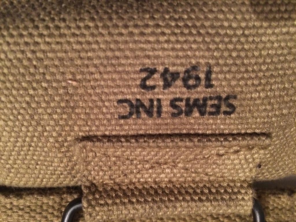 Gourde , sac à pain , ceinturon garand US Bb6f2710