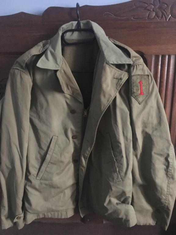 Identification field jacket M41 BIG RED ONE D2713710