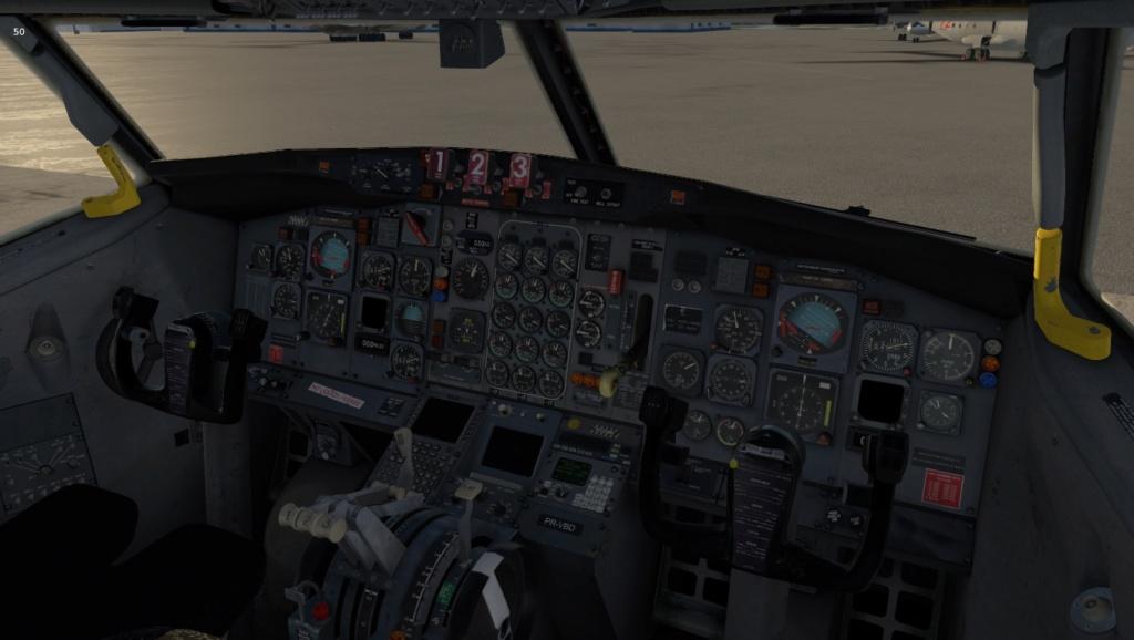 Uma imagem (X-Plane) 727-2028
