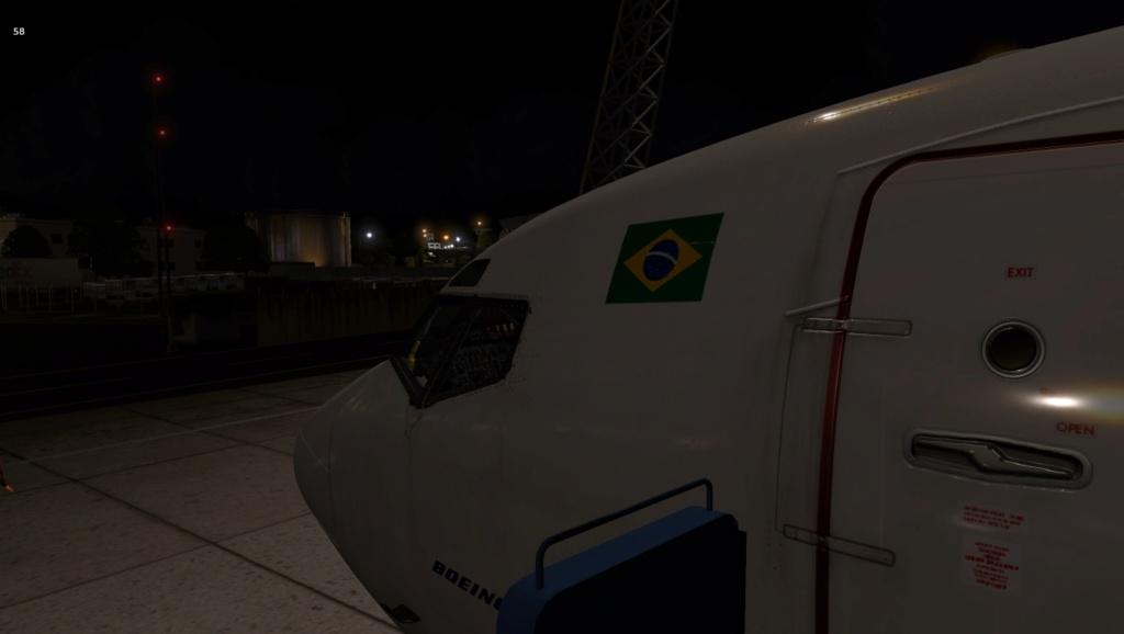 Penúltima perna do traslado do B722 VBD, Praia - Recife 727-2051