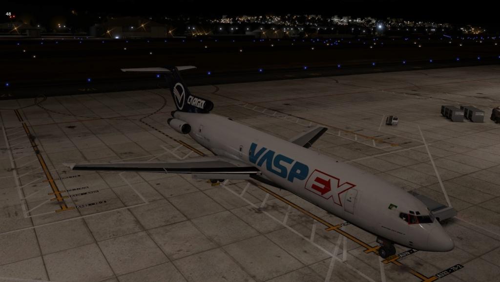 Penúltima perna do traslado do B722 VBD, Praia - Recife 727-2053