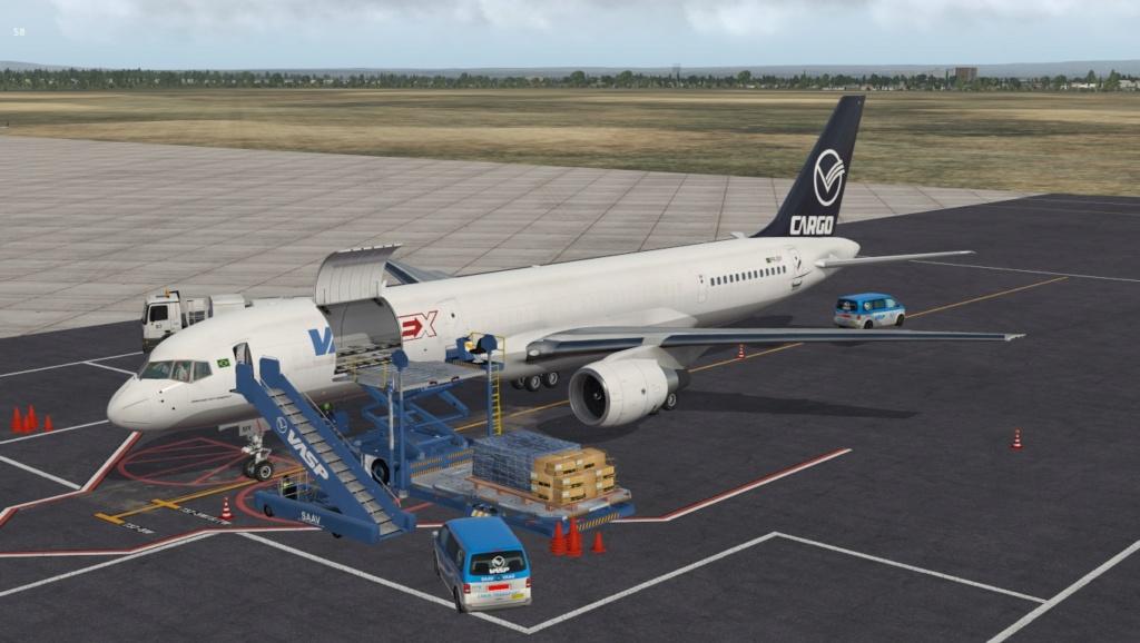 Partindo em missão ao Brasil!  757-rf17