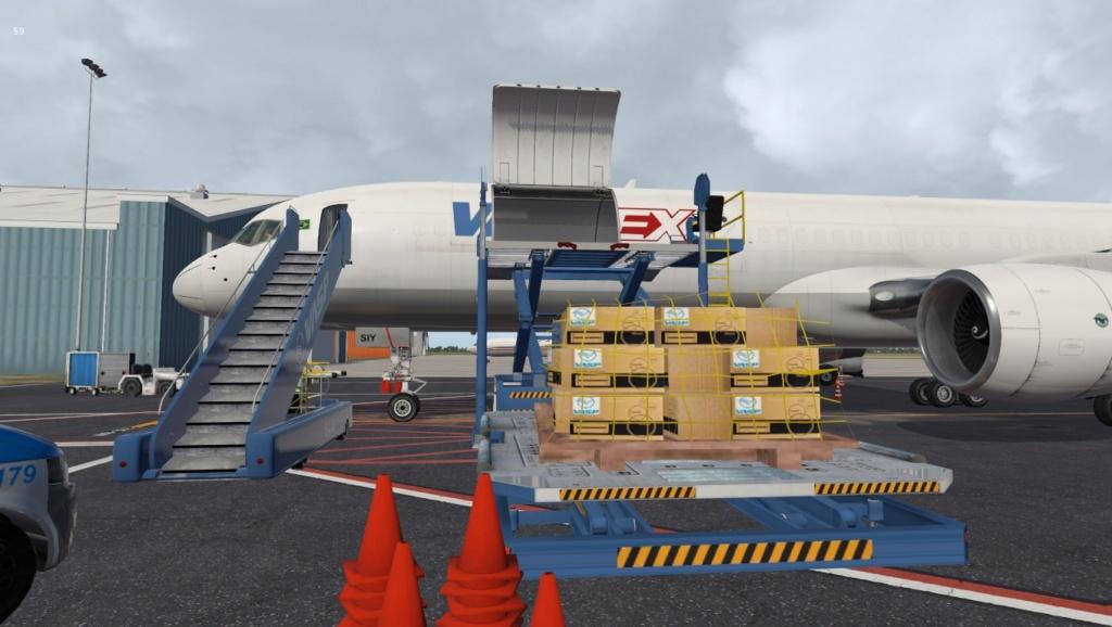 Partindo em missão ao Brasil!  757-rf18