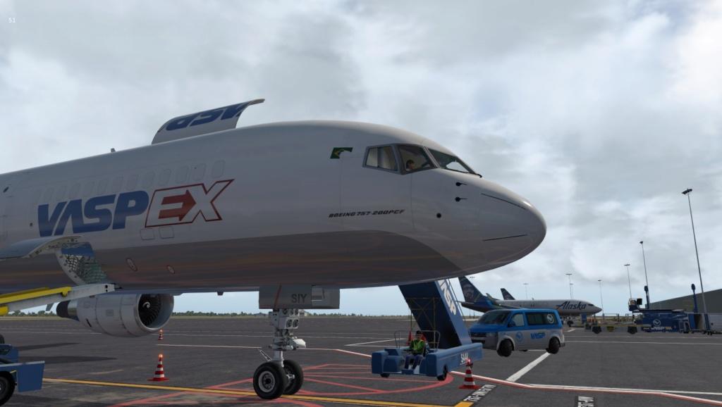 Partindo em missão ao Brasil!  757-rf20