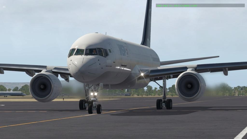 Partindo em missão ao Brasil!  757-rf23