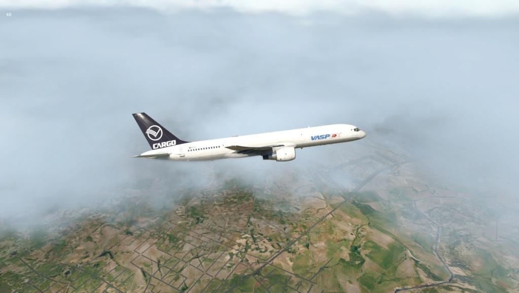 Partindo em missão ao Brasil!  757-rf25